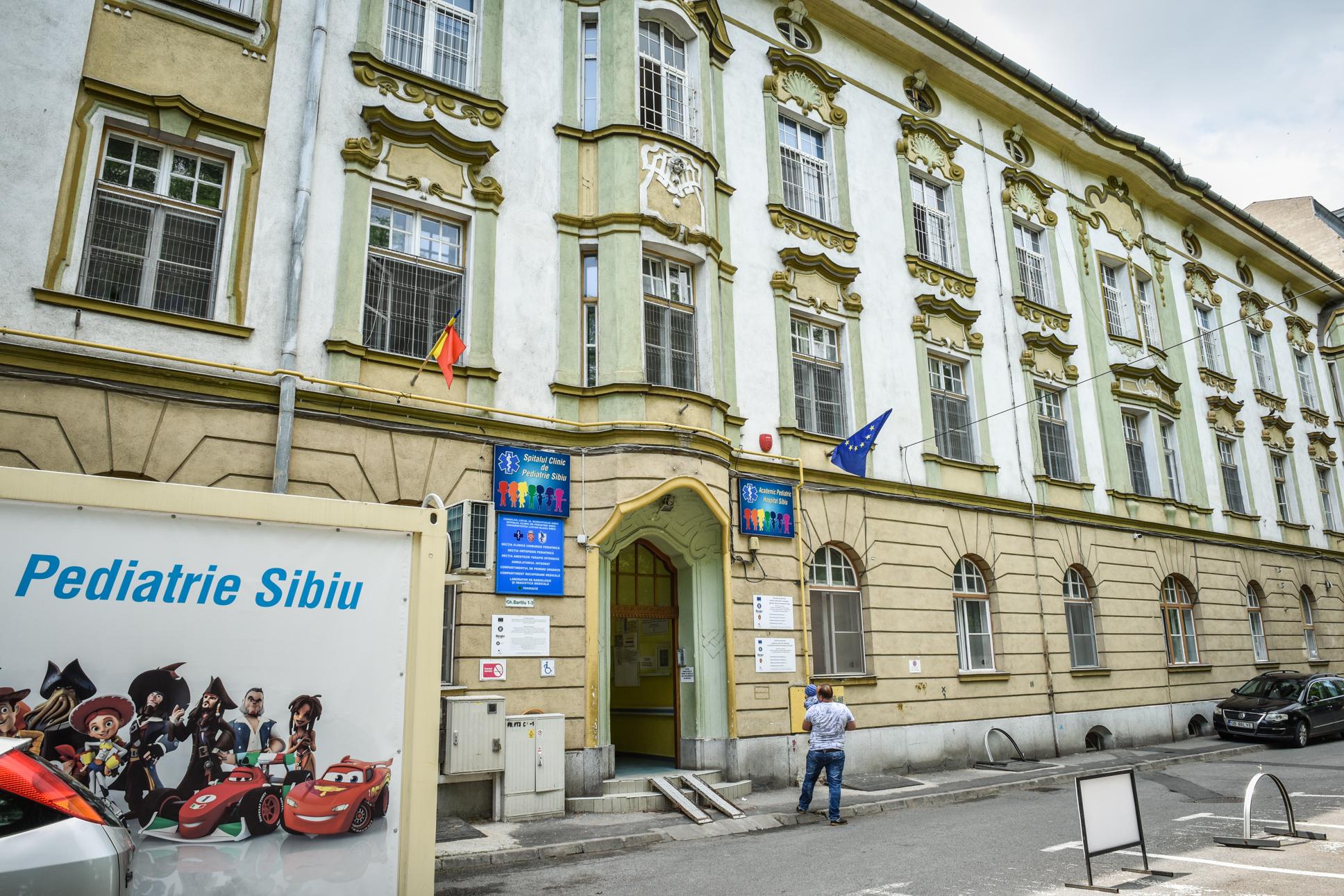 Șapte copii infectați cu SARS CoV-2 sunt internați la Pediatrie, în Sibiu. Niciunul pe ATI