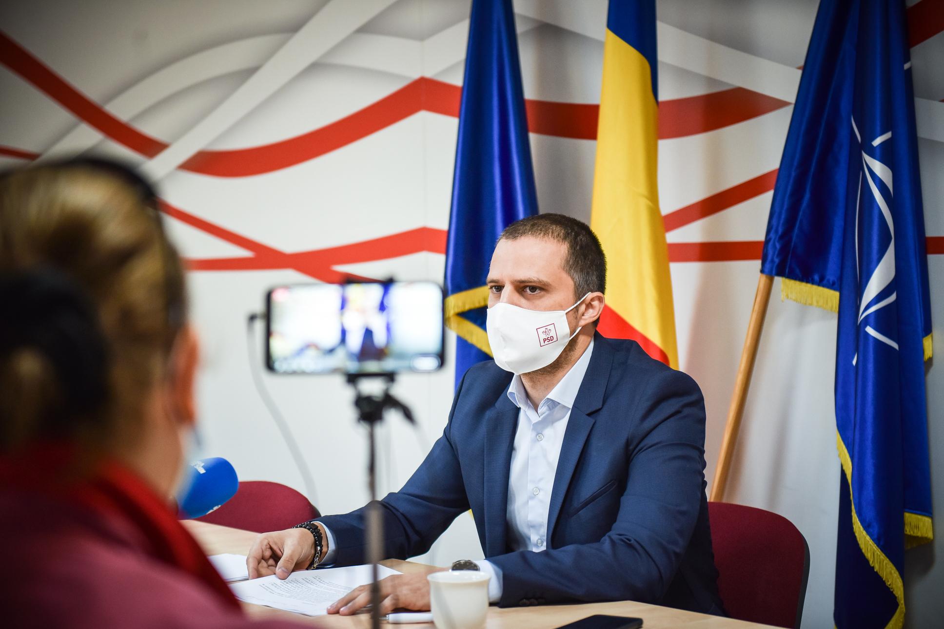 Trif, liderul PSD Sibiu: ne dorim alegeri anticipate. Avem cât PNL, USR și AUR la un loc