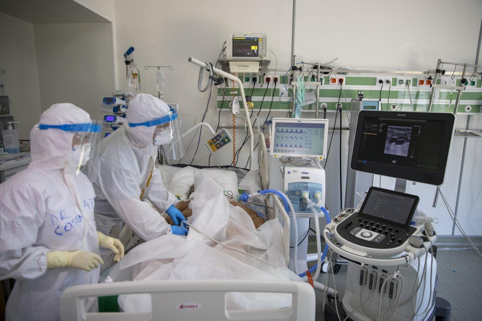 Bilanț COVID-19 în România, marți: 6.789 cazuri noi și 129 pacienți decedați