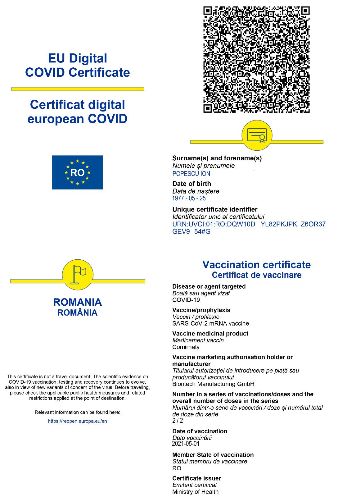 Bucureștiul intră în scenariul roșu, iar certificatul verde va fi obligatoriu