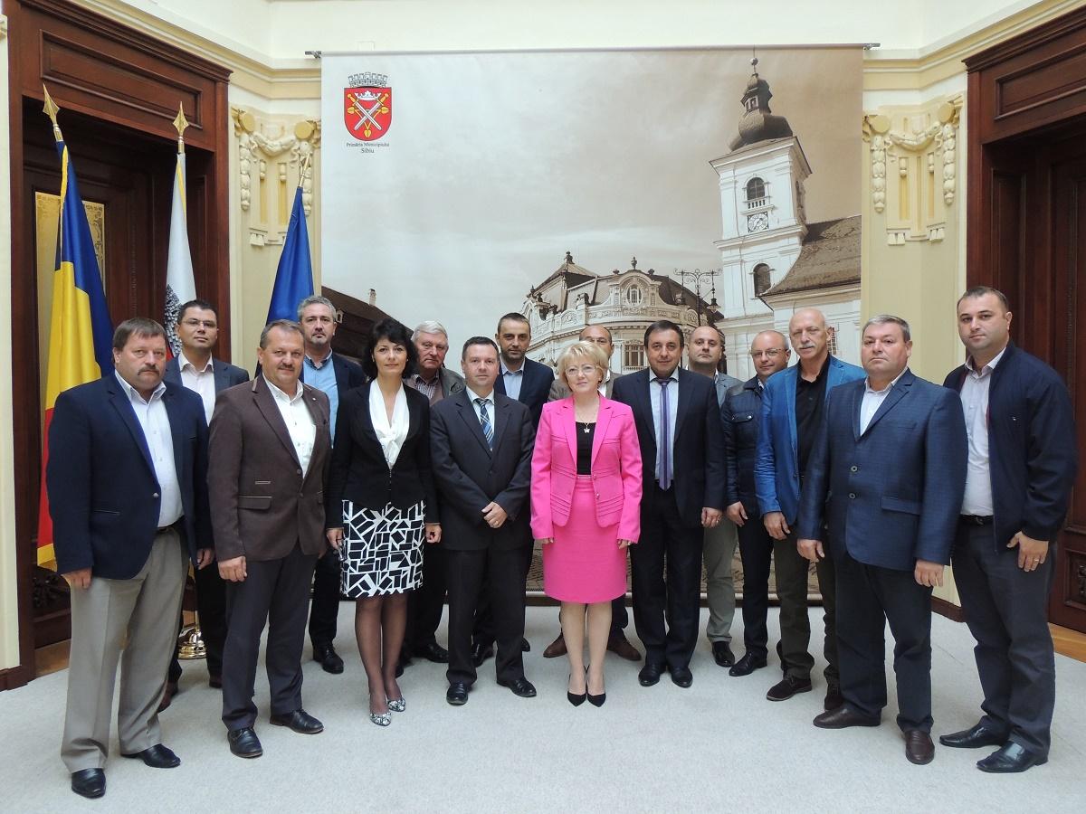Zona metropolitană Sibiu: aleșii se întâlnesc în formulă extinsă pentru prima dată după cinci ani