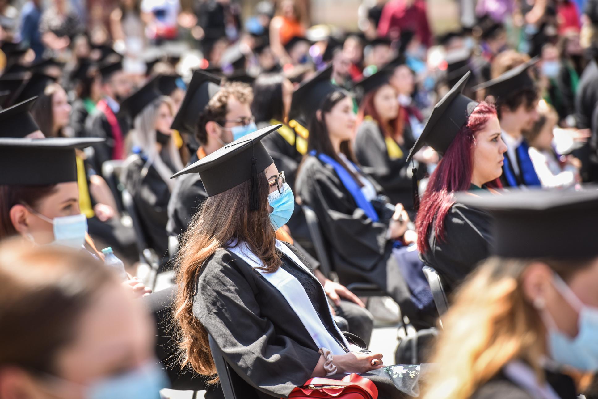 ULBS și AFT deschid anul universitar în Piața Mare. 500 de studenți iau parte la ceremonie