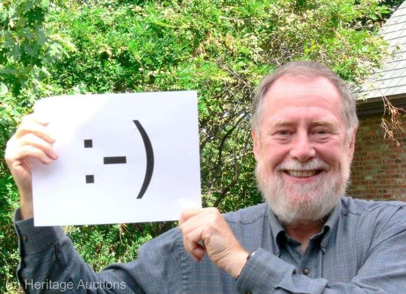 Primele reprezentări digitale ale unei ''feţe zâmbitoare'', vândute la licitaţie cu peste 200.000 de dolari