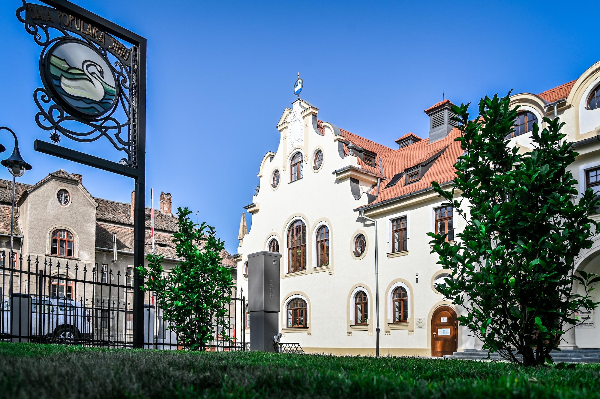 Baia Populară, prima instituție publică din Sibiu unde mai intri doar cu certificatul verde