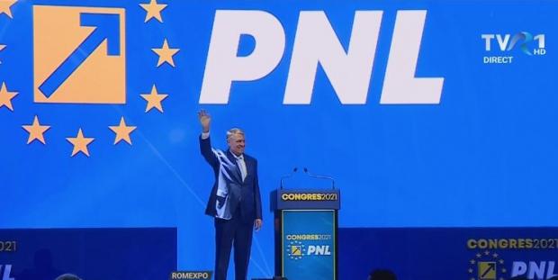 Iohannis la Congresul PNL: această guvernare trebuie să continue, nu există niciun motiv real ca premierul să fie demis sau să îşi dea demisia