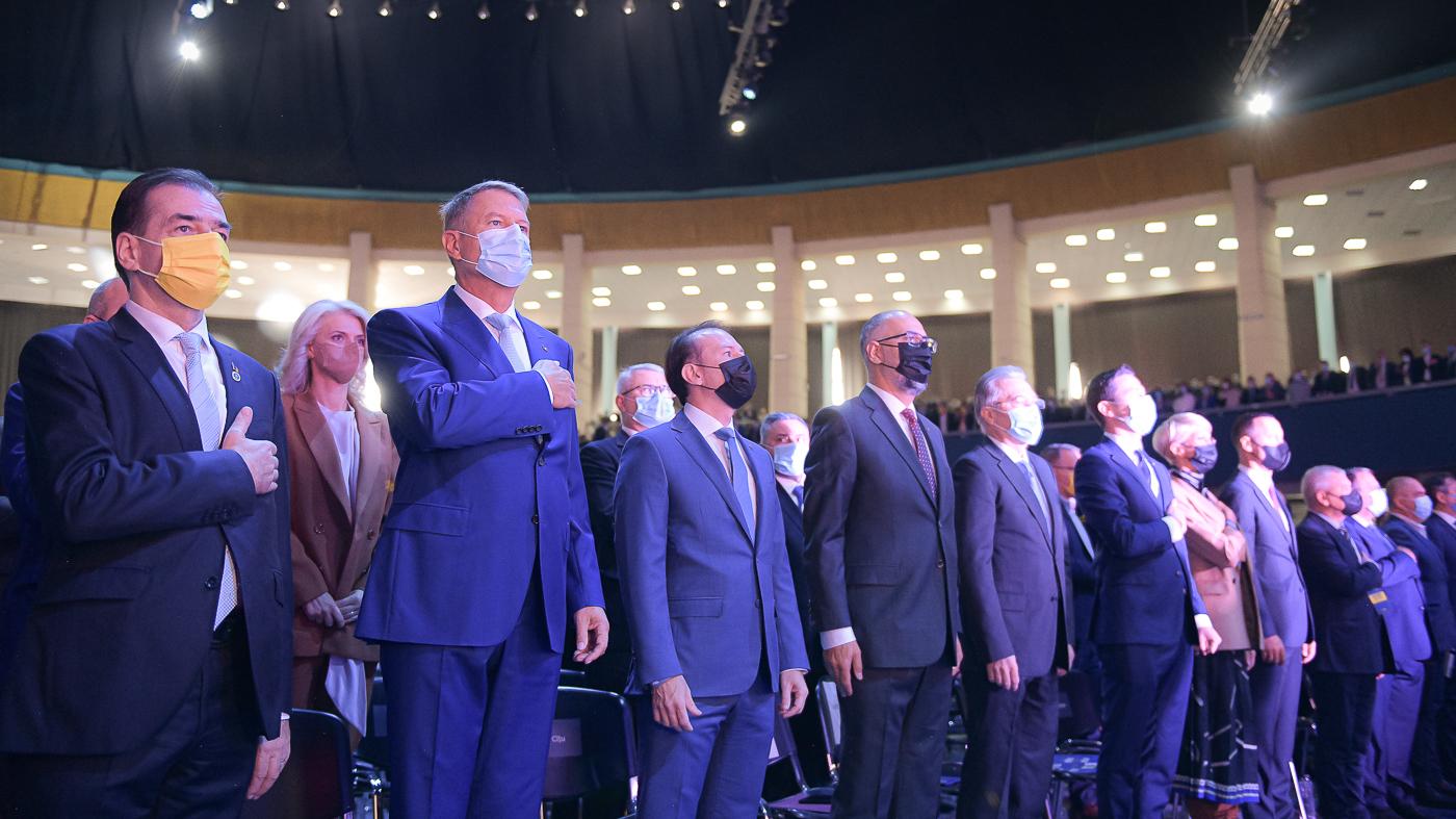 VIDEO Scandal la congresul PNL: Cîțu, huiduit în timpul discursului