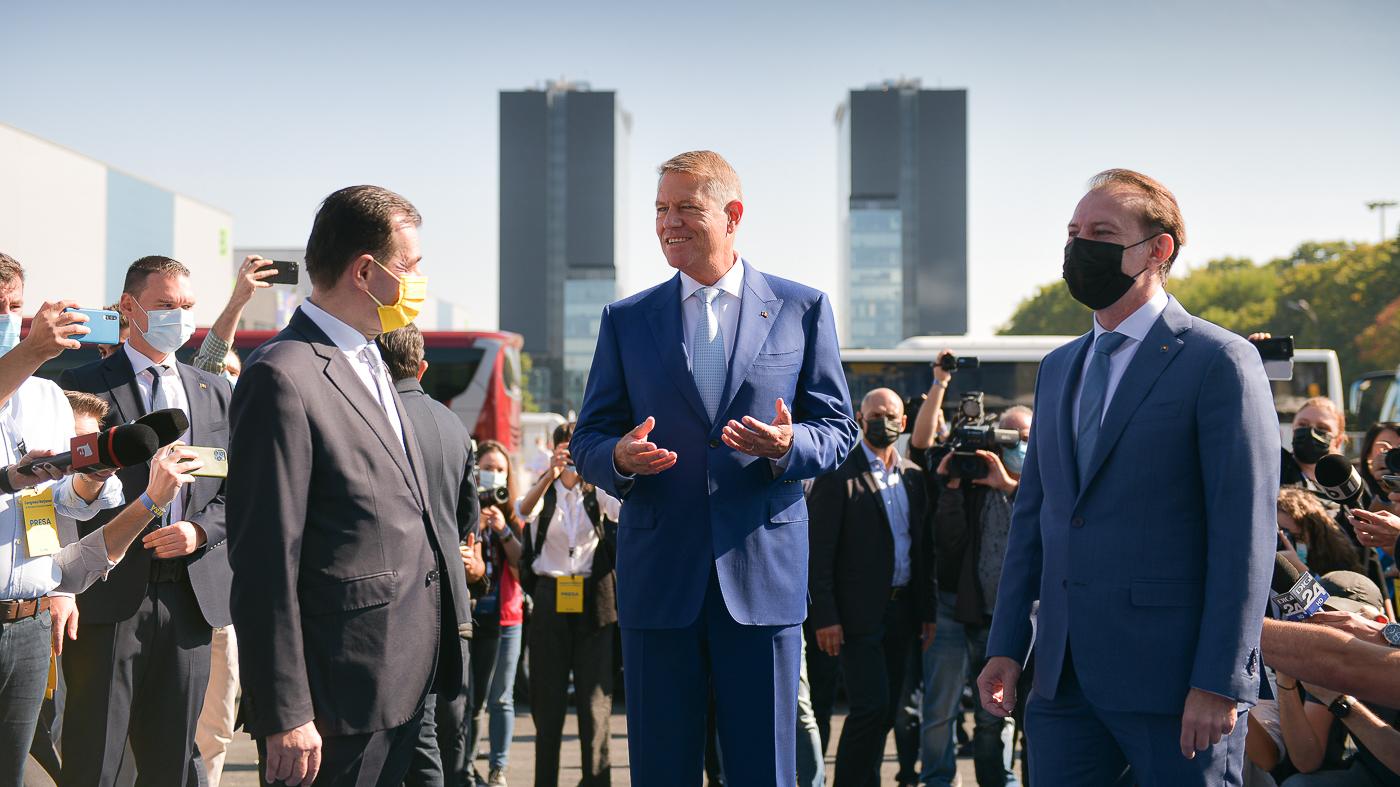 """Florin Cîțu a fost ales președintele PNL. Orban: """"între mine și Iohannis nu mai există parteneriat"""""""
