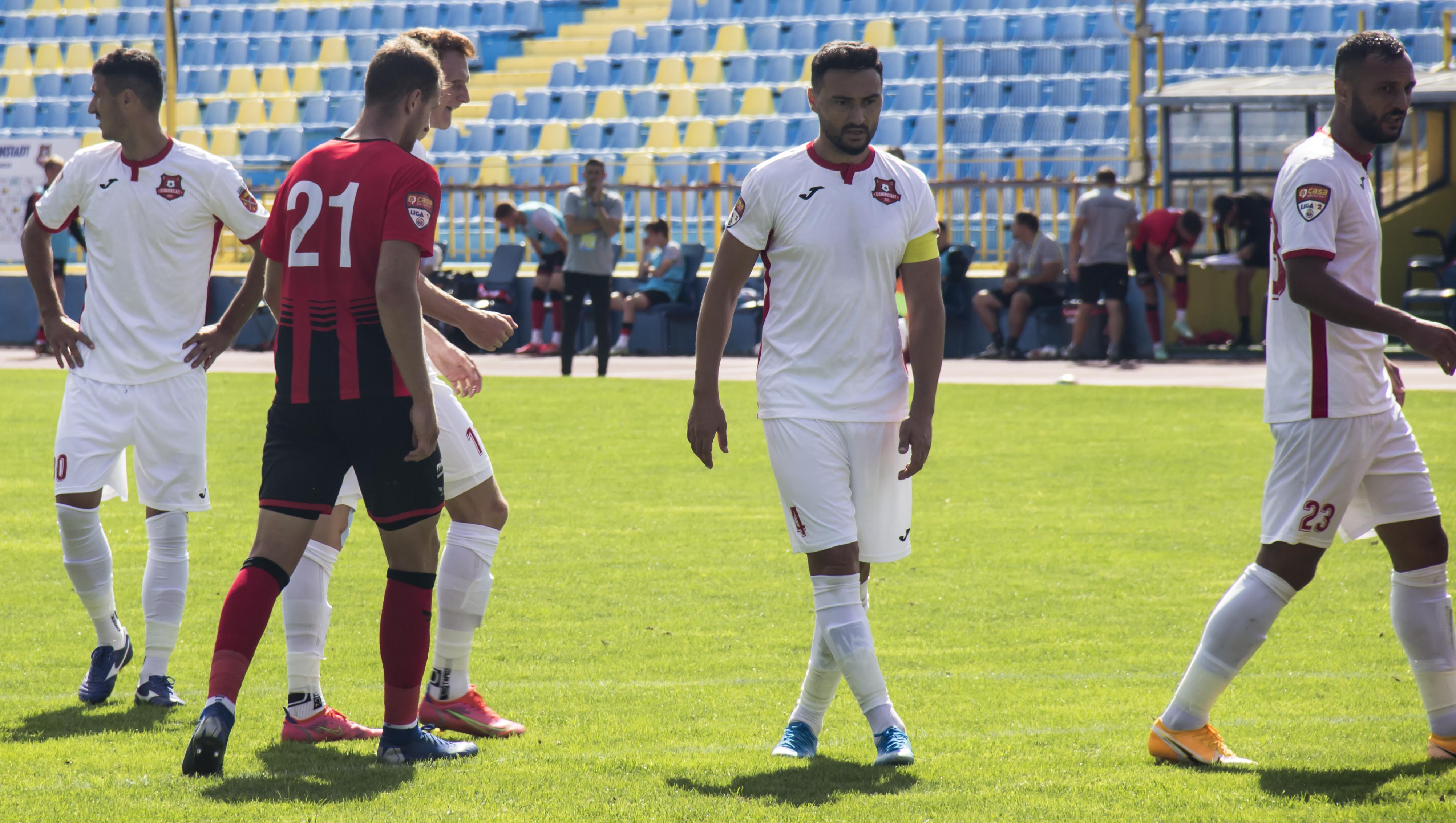 """FC Hermannstadt, meci la Slobozia: """"să urcăm chiar pe primul loc în clasament"""""""
