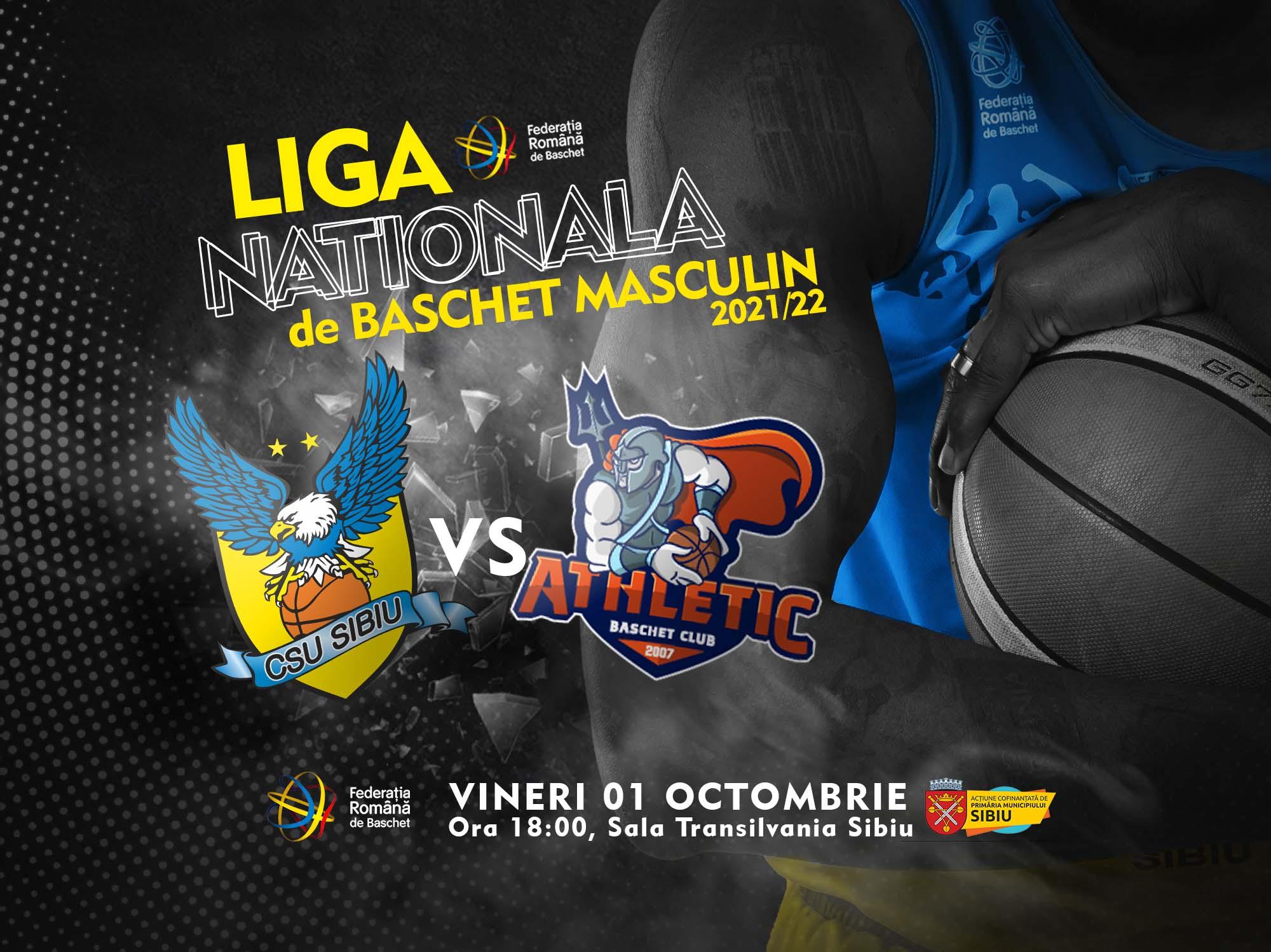 BC CSU Sibiu s-a calificat în sferturile de finală ale Cupei României