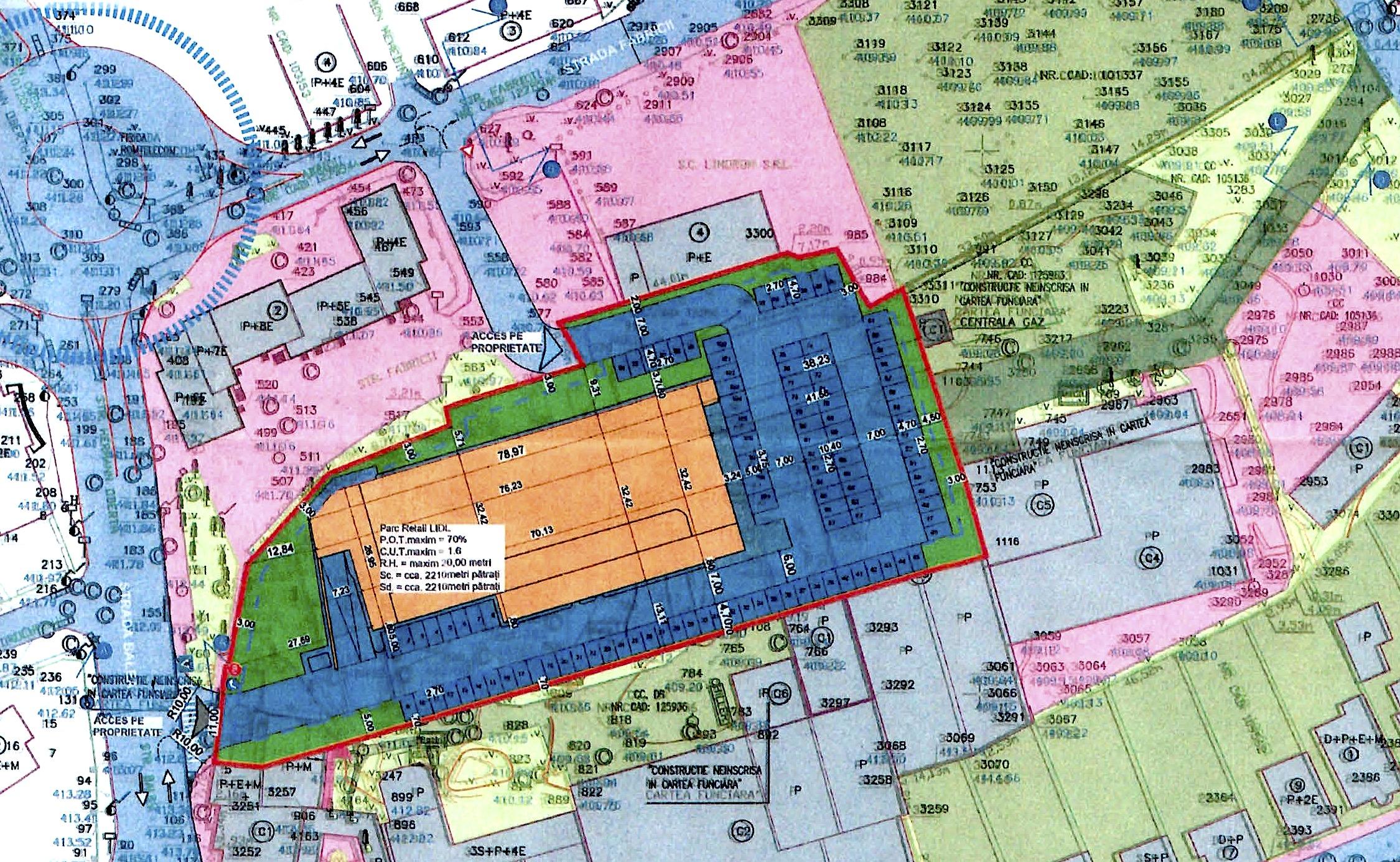 Noul Lidl propus lângă centrul Sibiului a împărțit consilierii locali: FDGR cu PSD, USR PLUS cu PNL