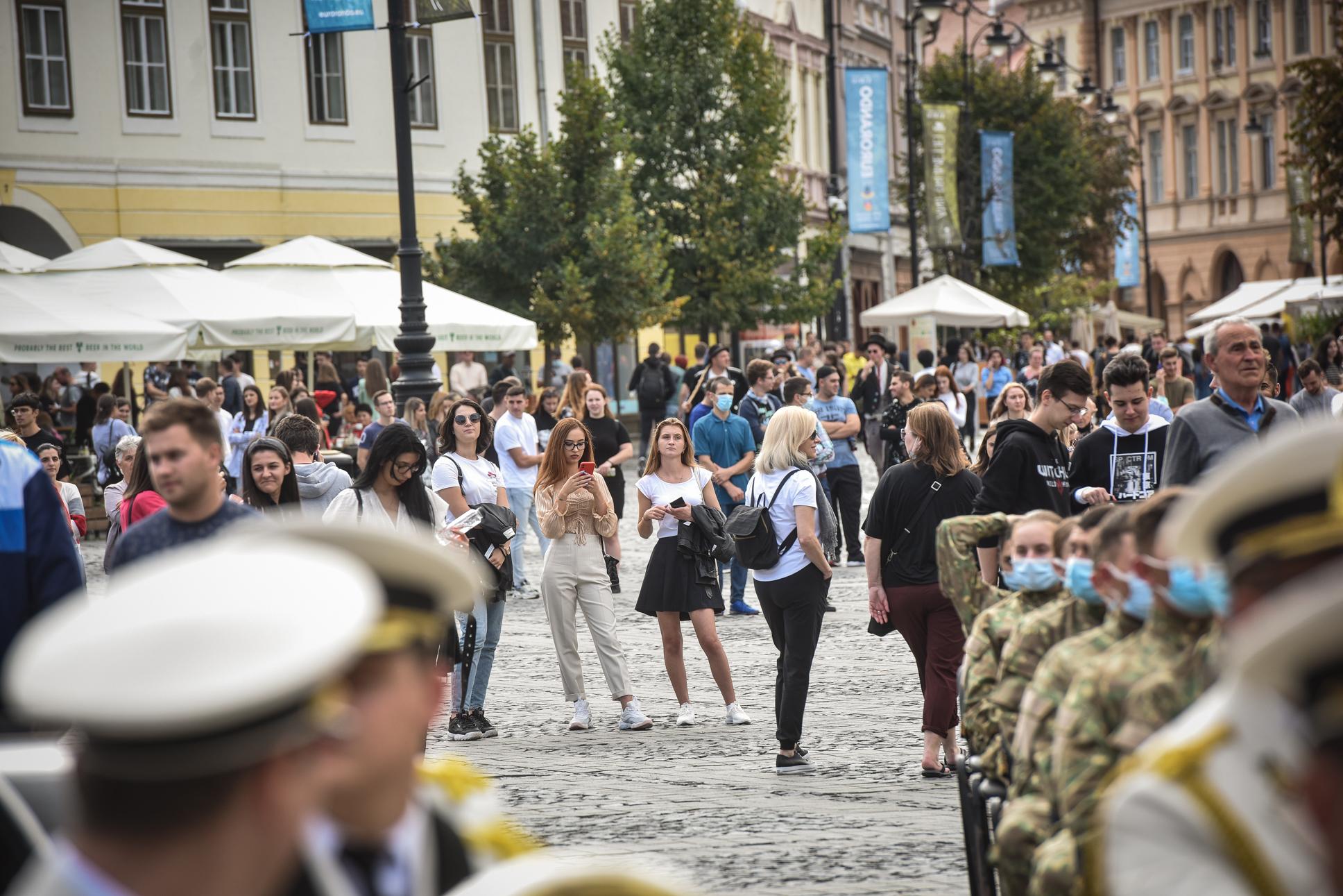 Creștere rapidă: incidența în orașul Sibiu trece de 4 la mie, cu 713 cazuri active