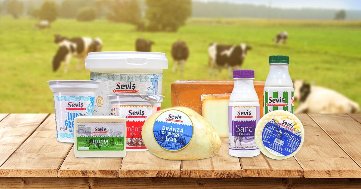 În plin val de scumpiri, Fabrica de Lapte Seviș nu crește costul lactatelor