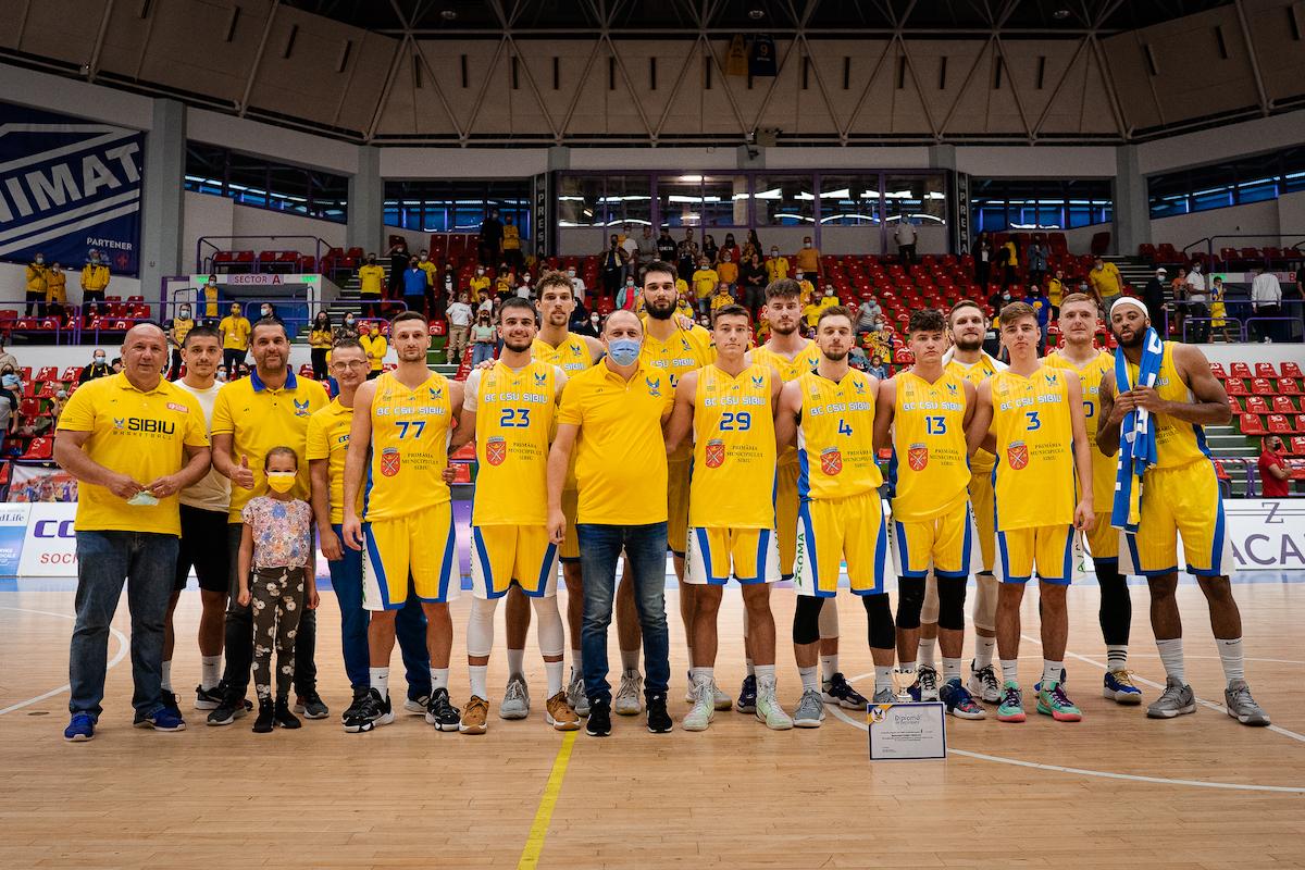 BC CSU Sibiu a câștigat Memorialul Tordai 2021