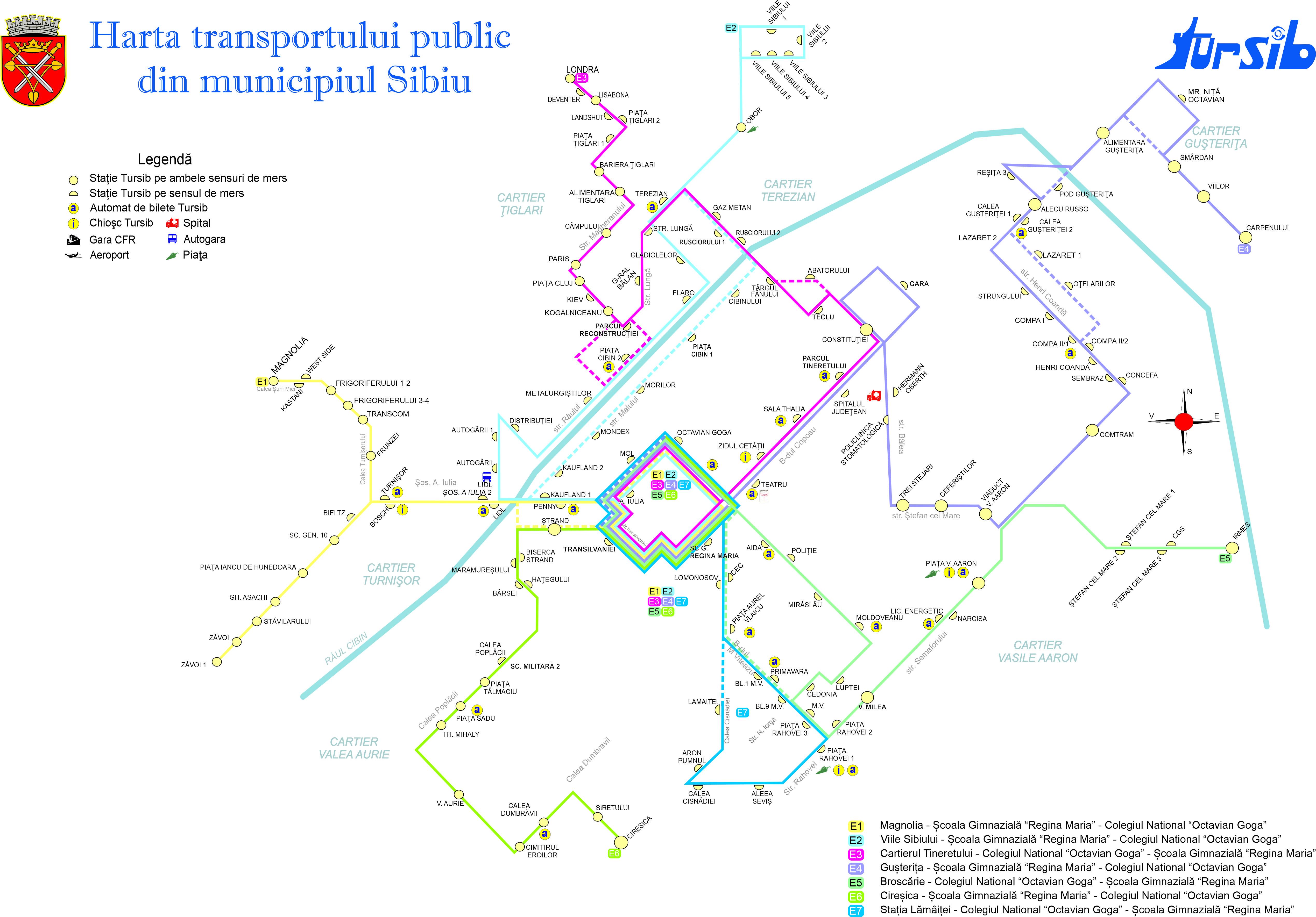 Tursib lansează transportul şcolar în Sibiu
